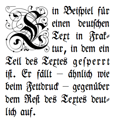 fancy calligraphy on a scroll